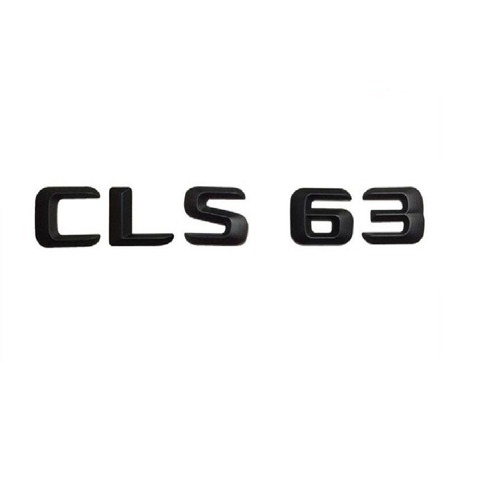 "Gloss Black Letters /""CLS 63 AMG/"" Trunk Badge Emblem Sticker for Benz CLS63 AMG"