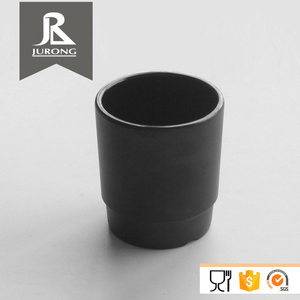 Alibaba most popular durable black plastic cup for drinking