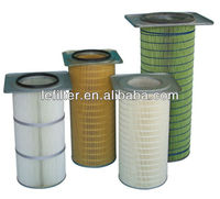 gas turbine Square cover cylindrical air filter