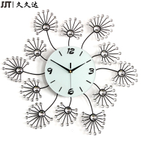 Promotional Home Decor Unique Handmade Metal Diamond Wall Clock Designs