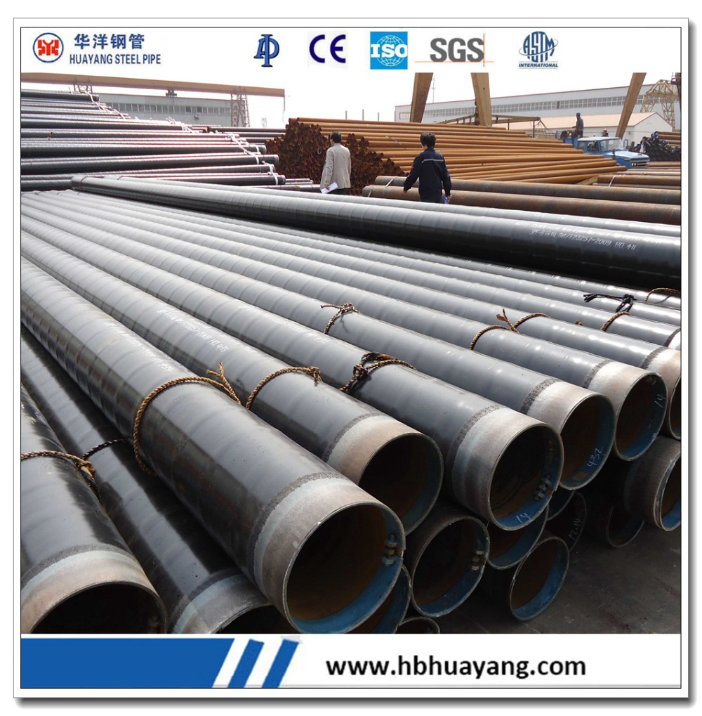 Large diameter seamless steel pipe inch