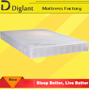 King Single Mattress Innerspring Sl 18cm Thick Two Sided Bunk Bed