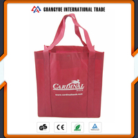 Guangyue Promotional OEM TNT PP Shopping Non Woven bags In Dubai