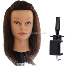Indian Hair Manikin head Natural hair head Mannequin Head 100% Human Hair