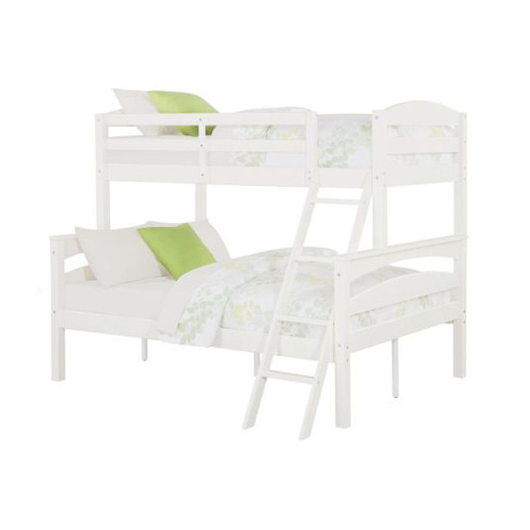 Solid Pine Wood Furniture Cheap Kids Bunk Beds with Stairs