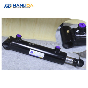 Advanced Germany machines cross tube welded double acting steel hydraulic cylinder used for fitness equipment