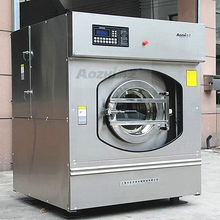 Free shipping 220lbs sheet washer extractors laundry washing machine for hotel