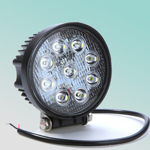 round 5.1 inch 10-30v 27w led offroad light for truck,SUV,Jeep,offroad