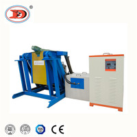 1kg-500kg aluminium melting furnace induction heating melting machine