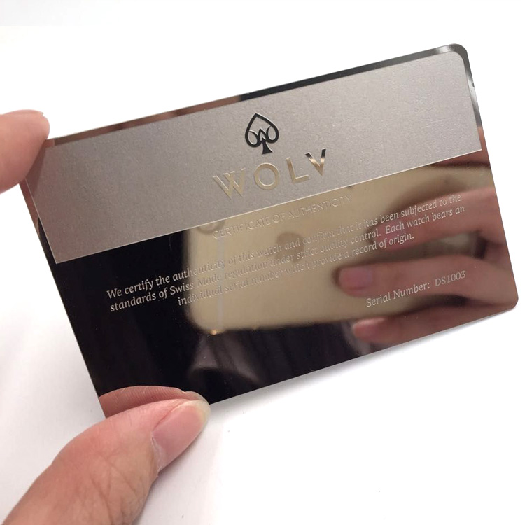 carte Inc Scatola Regalo Inciso A Laser Cut con carte da gioco può essere personalizzato