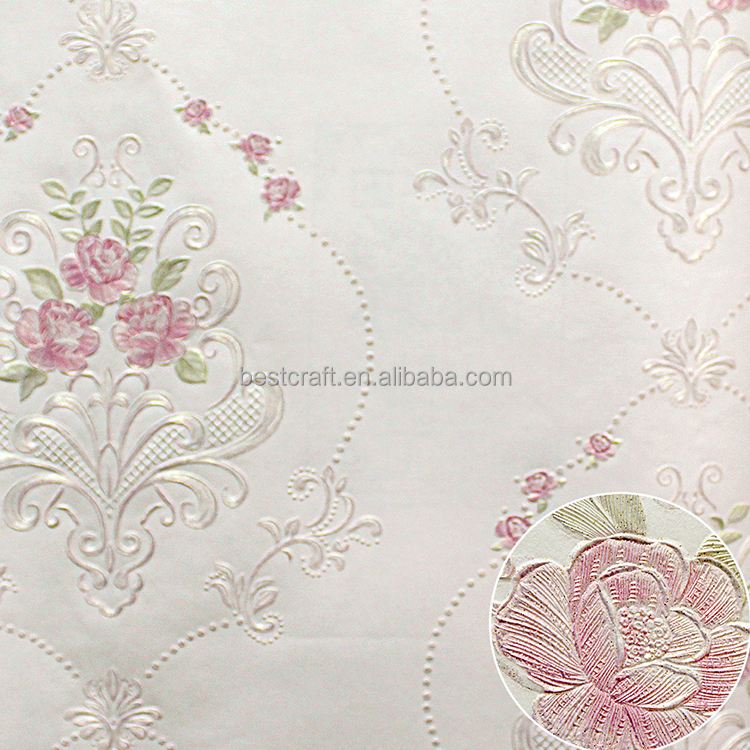 Buy wholesale from China wallpaper for home decorative wall pure paper waterproof wallpaper wall decoration paper