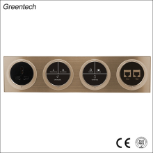 Many Functions LED Light TV Network Socket Touch Switch for Fan and Light