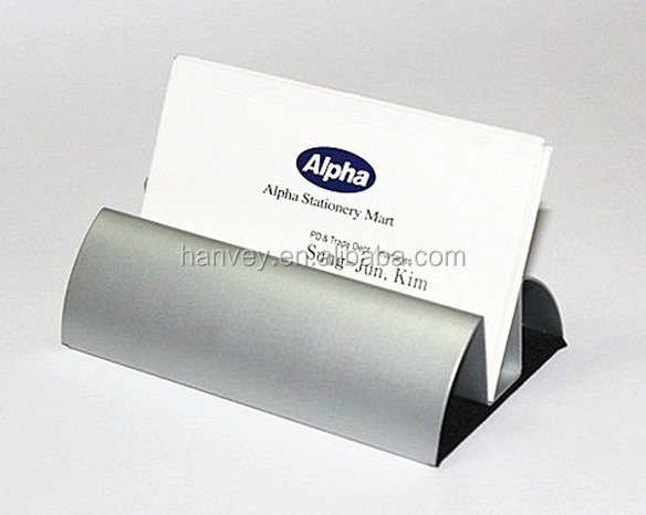 Buy cheap china note business card holder products find china note id card holder amp note holder type and metal aluminium material desk business card reheart Image collections
