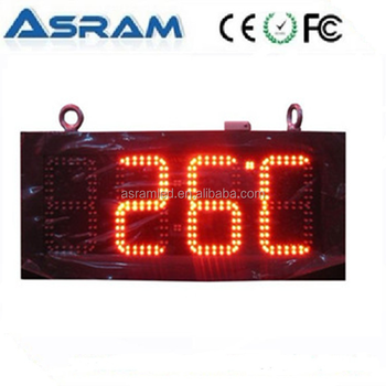 7 Segment Led Clock Display 4 Digits Time Outdoor
