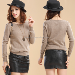 winter pullover top knitted sweater women clothes cashmere sweater