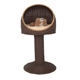 Rattan small pet house supplier cat tree house dog indoor house