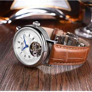 Leather Material and automatic mechanical Type new items in china market
