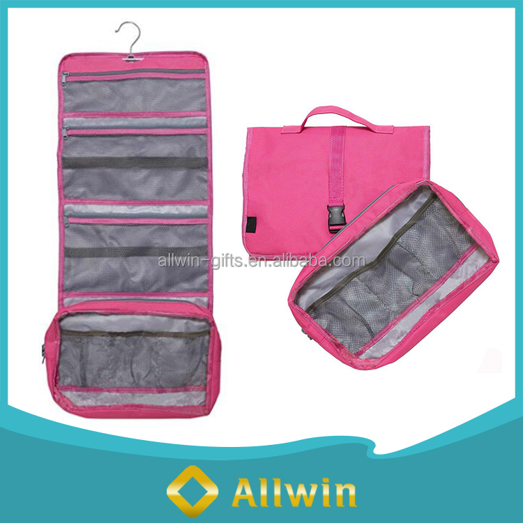 Travel Organizer Foldable Toiletry Women Hanger Bag
