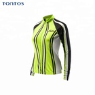 Ultra-light Quick dry Sublimation Short Sleeve Women's Cycling Jerseys jacket