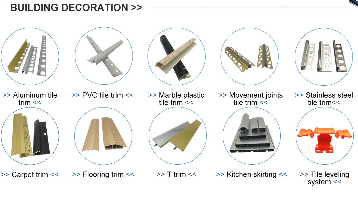 NOVA nuovo tipo di OEM Su Misura di Plastica Profilo IN PVC/PVC Estrusione