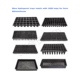 OEM PS Plastic Seed Starter /Starting Grow Germination Tray for Greenhouse Vegetables Nursery