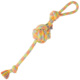 wholesale pet accessory orange ball soft cotton rope doy toys