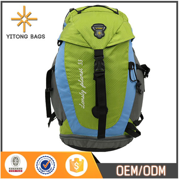 China 2016 New Products New Design School Bag Backpack Camping