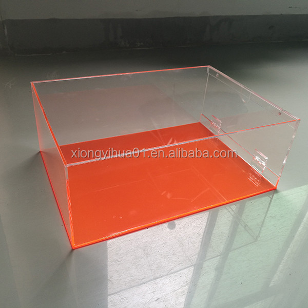2016 New Product Acrylic Sneaker Box /Plexiglass Shoes Display Box /Acrylic Nike Shoe Box Manufacturer