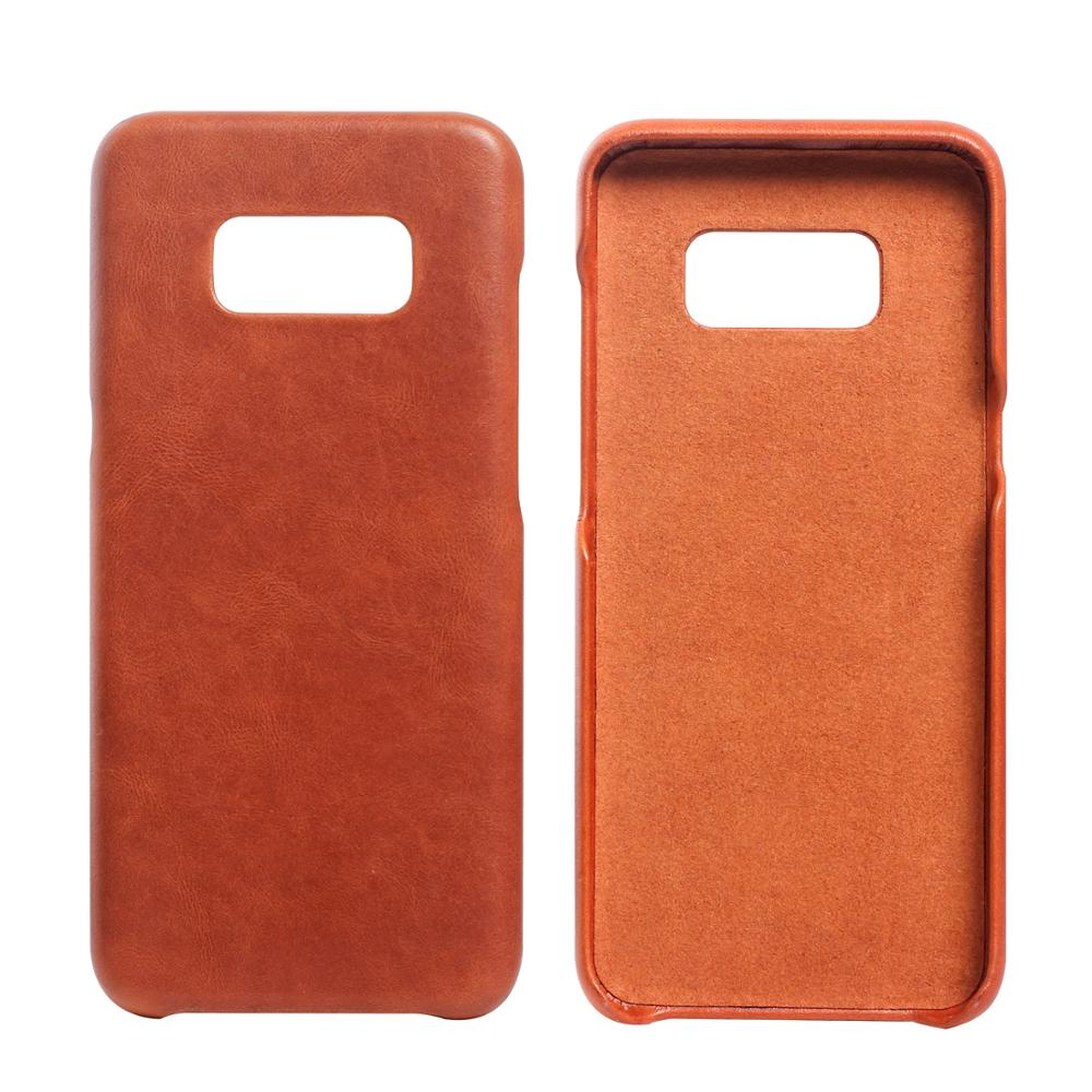 Genuine Cowhide Leather Case for Samsung Galaxy S8 Case
