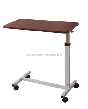 manufacturers table at and bed overbed with over drawer drawers used wheels suppliers