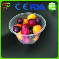 disposable plastic food fruit &vegetables food packaging box