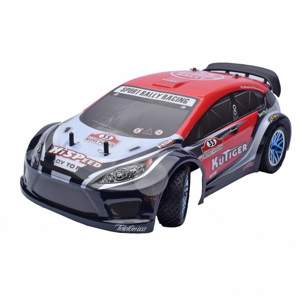 HSP Rc Car 1/10 4wd Nitro Gas Power Remote Control Car