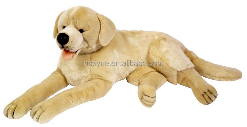 Large Size Lying Plush Border Collie Dog Lifelike Large Toys Border