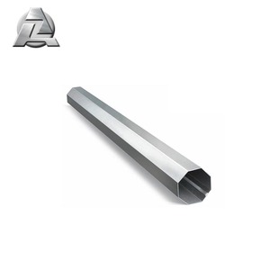 sale top quality iraq octagonal aluminum profile tubes