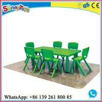 children furniture/ plastic table chairs/ kids table chair