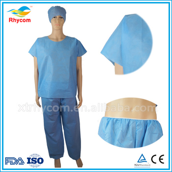 Sterile Disposable Hospital Patient Surgical Gown For Sale - Buy ...