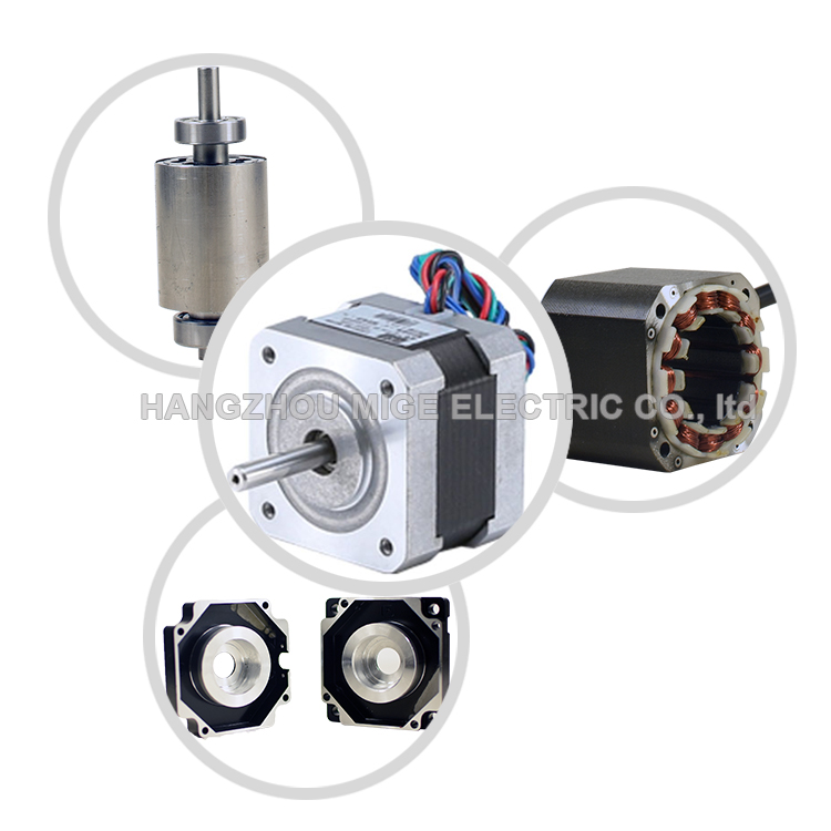 small Nema17 Three phase step motor