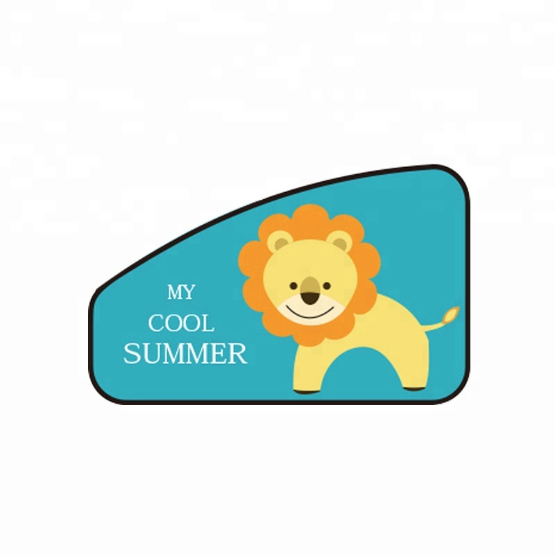 Jutien Amazon Small Wholesale Auto Magnet Car Cute Cartoon <strong>Sun</strong> Shade Curtain For Baby/Women