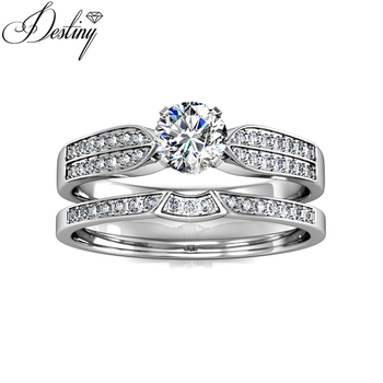 Destiny Jewellery Fashion Wedding Rings Engagement Rings Hot Sales