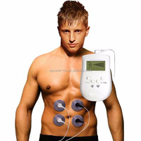 Battery Powered Muscle Training Ten Unit , Hot Wired EMS Training , Medical Physiotherapy Body Massage Vibrator