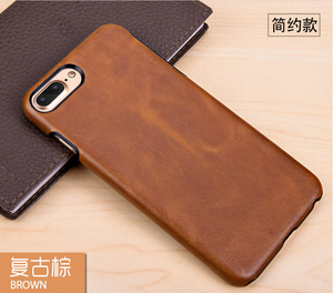 China phone case manufacturer men luxury black brown genuine leather phone case for iphone X