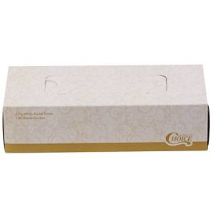 "Wholesale CASE of 25 - Marcal Pro 2-Ply Facial Tissue-Facial Tissue,2-Ply,Soft,4-1/2""x8-3/5""x1-4/5"",100 SH/BX,WE"