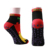 wholesale big stock yoga socks non slip trampoline grips rubber sole socks