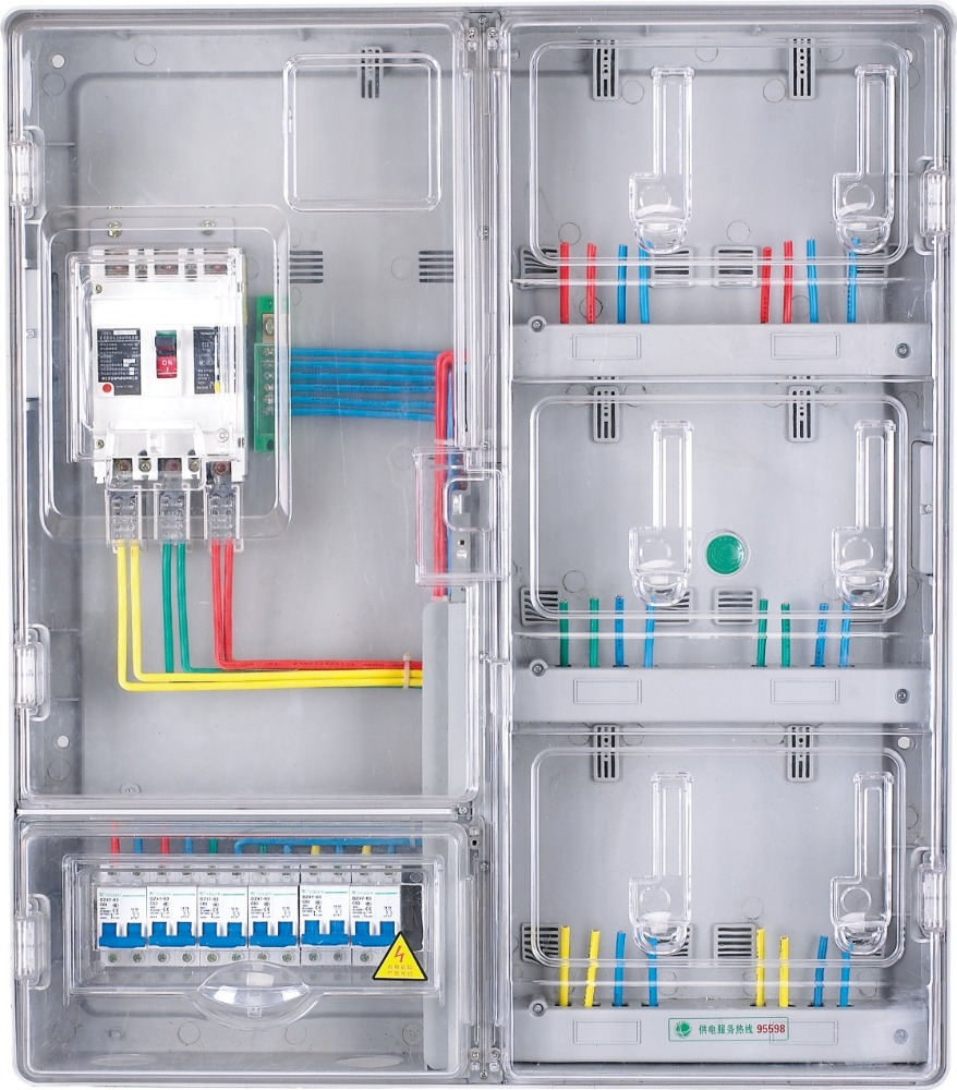 China Manufacture Standard Single Phase Enclosure Electrical Panel
