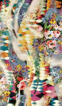 e1232efaf02 2018 Fashion Print Designs Digital Print Knit Fabric 95% Rayon 5%spandex  Rayon Elastic
