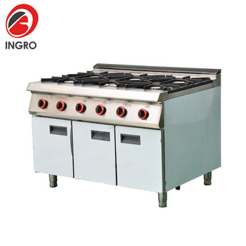 Professional Supplier LPG or NG Burner/Gas Stove Stand/Commercial 6 Burner Gas Stove