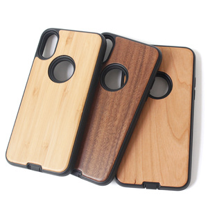New natural real wood wooden mobile phone cases for iphone x xs xr max case personalize