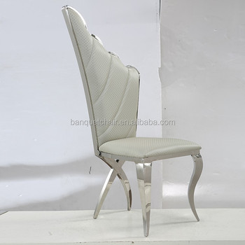 Modern High Wing Back Wedding Dining Chairs With Party