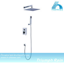 High Quality Rainfall Shower Set Bathroom Hot and Cold Water Mixer Shower