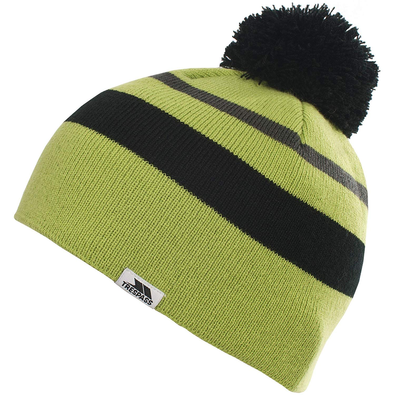 e5b831fe6e5 Get Quotations · Trespass Childrens Boys Pugsley Knitted Winter Bobble Hat